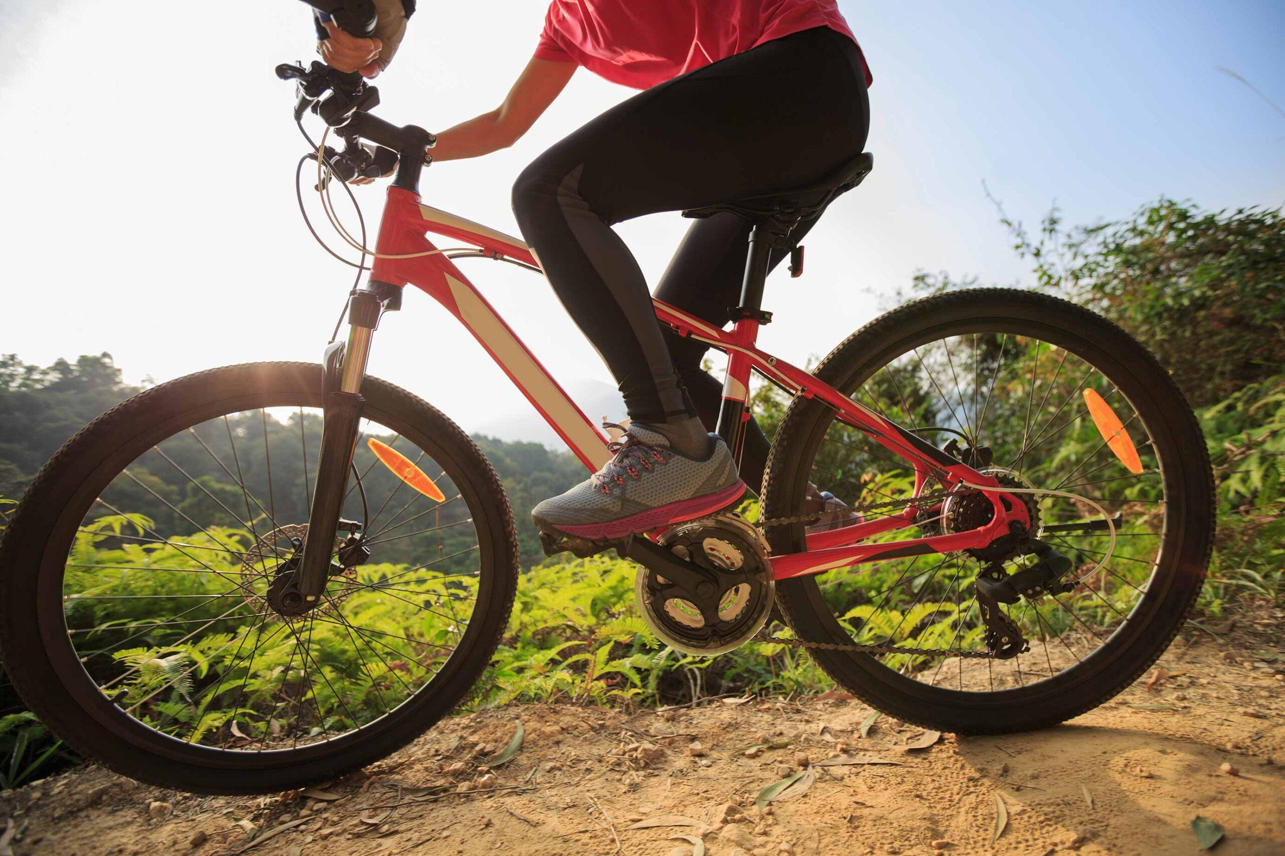ruta en bici en btt