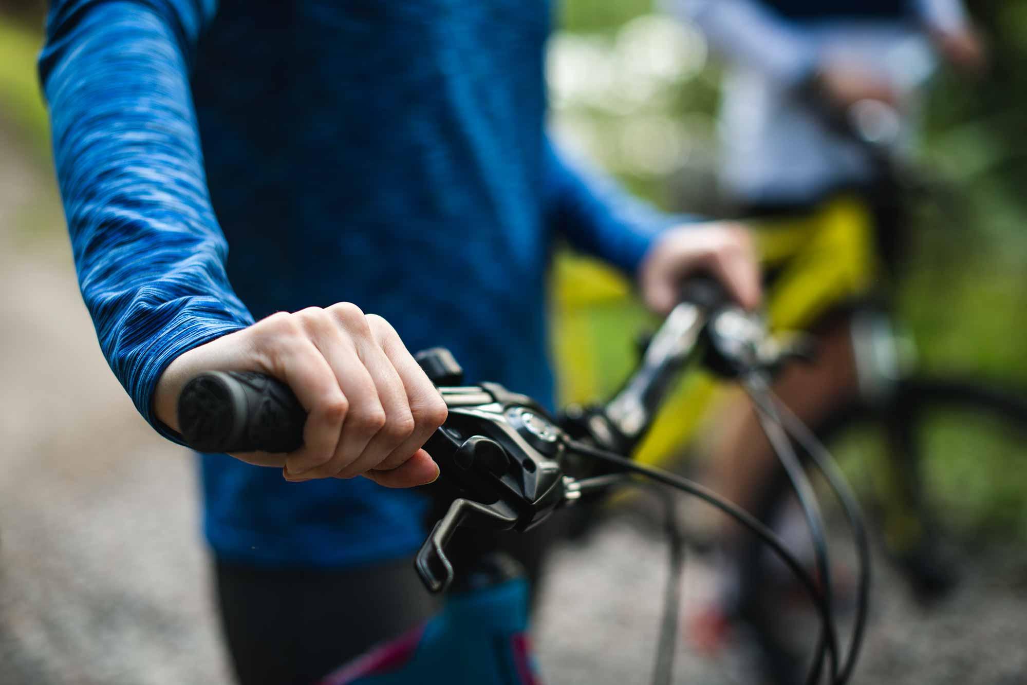ruta en bici por Sant Cugat